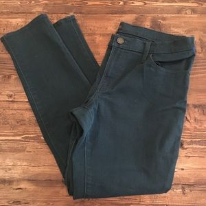 Rock & Republic green skinny jeans